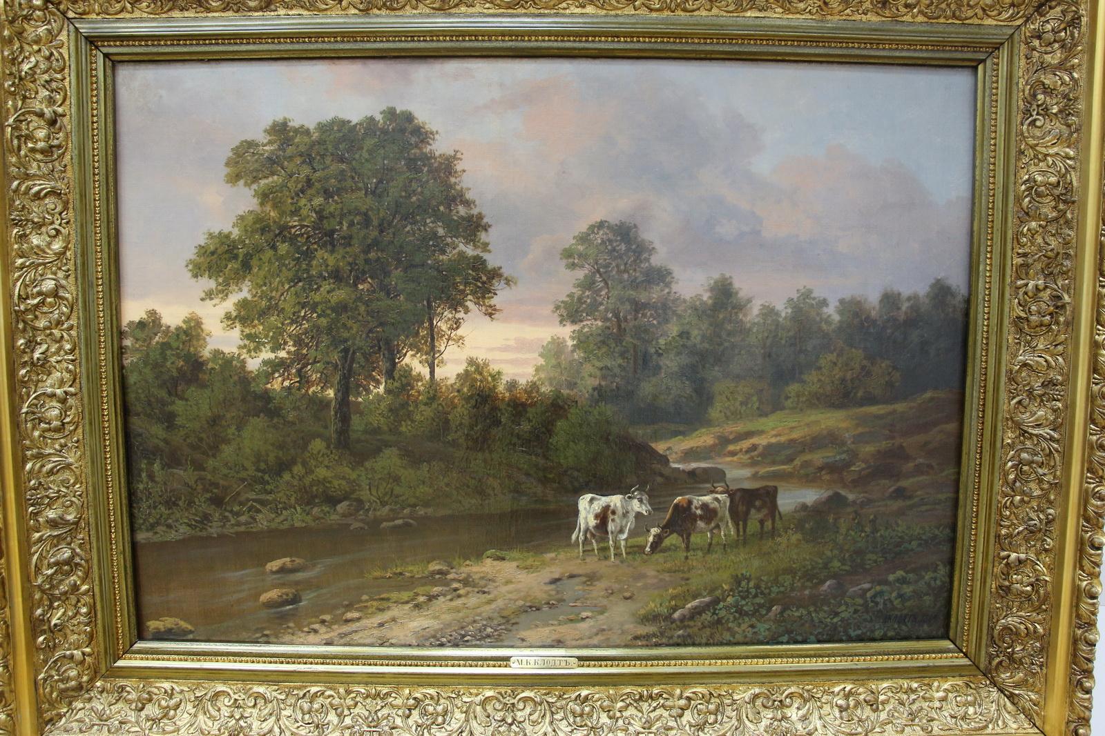 Скупаем старые картины, дорого и срочно