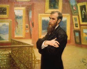 Павел Михайлович Третьяков (Портрет)